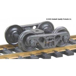 H0 nákladní podvozek typu Roller Bearing, celokovový, 1 pár