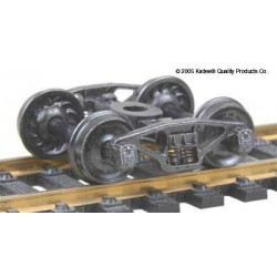 H0 nákladní podvozek typu Pennsylvania 2D-F8 (50t), celokovový, 1 pár