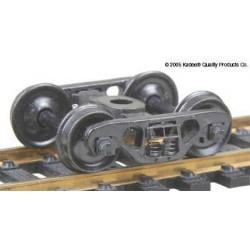H0 nákladní podvozek typu Barber S-2 (70t) Roller Bearing, celokovový, 1 pár