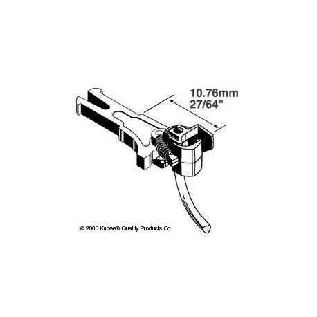 H0 spřáhlo pro upevnění podle NEM 362, střední (10.16 mm), 2 páry
