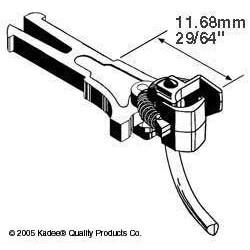 H0 spřáhlo pro upevnění podle NEM 362, dlouhé (11.68 mm), 2 páry