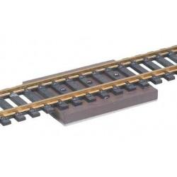 rozpojovač - permanentní magnet. Vhodný pro rozchody 10.5 - 32 mm, určený k umístění pod kolej
