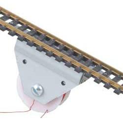 H0 elektromagnetický rozpojovač, skryté provedení (stavebnice, montuje se pod kolej)