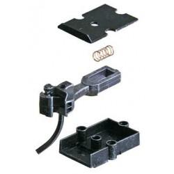 0 spřáhlo střední délky, zvláště modelové (AAR typ E), kovové, včetně spřáhlové skříně (kovové č. 818), 2 páry