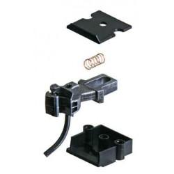 0 spřáhlo krátké, zvláště modelové (AAR typ E), kovové, včetně spřáhlové skříně (plastové č. 817), 2 páry