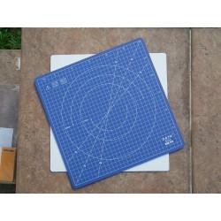 Řezací podložka čtvercová otočná 300 x 300 mm