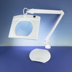 Stolní svítidlo se zvětšovacím sklem (čočka 190 x 160 mm), LED 17.5W, polohovatelné