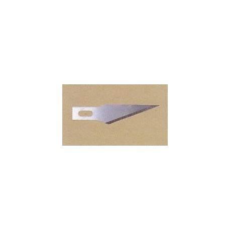 čepel č.11S - špičatá přímá, z nerezavějící oceli, 1000ks