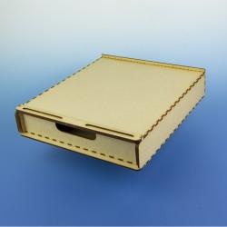 Zásuvka pod modelářské pracoviště A4, nízká - pro uložení základních potřeb, rychlostavebnice