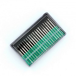 Sada diamantových rotačních gravírovacích nástrojů, průměr stopky 2.35 mm, 20 kusů, různé tvary
