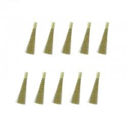 Náplň do čistícího pera - mosazný kartáč ø4 mm, 10 ks