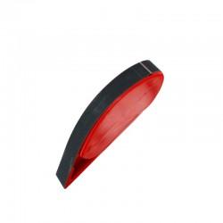 Pásové brousítko šíře 20 mm, s napínáním brusného pásu pružinou, včetně pásu střední hrubosti