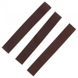 Smirkové pásy šíře 20 mm (pro brousítko PFL6020), hrubý, střední a jemný po 1 ks