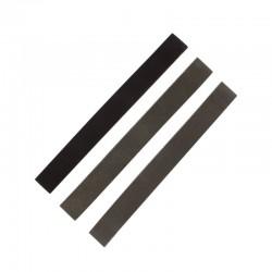 Smirkové pásy šíře 25 mm (pro smirkový pilník PFL6025), hrubý, střední a jemný po 1 ks