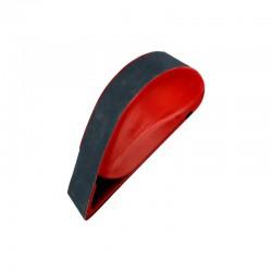 Pásové brousítko šíře 40 mm, s napínáním brusného pásu pružinou, včetně pásu střední hrubosti