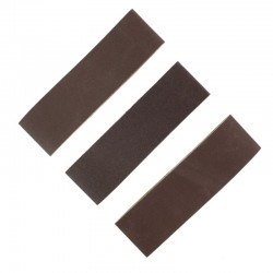 Smirkové pásy šíře 40 mm (pro brousítko PFL6040), hrubý, střední a jemný po 1 ks