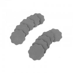 Náhradní brusné podušky k razítkovému brousítku, hrubost 2500, 10 ks