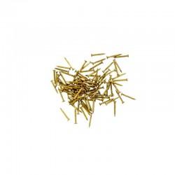 Hřebíčky mosazné 10 mm dlouhé, 100 ks