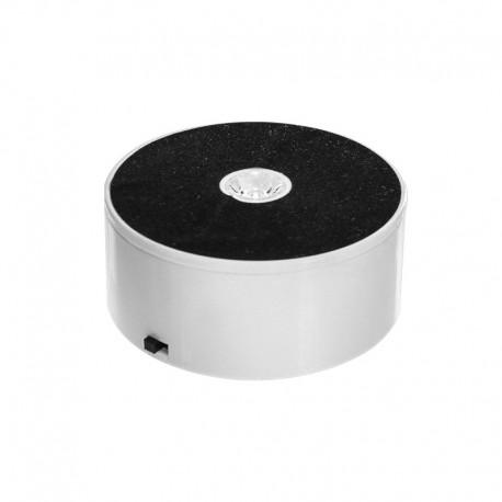 Předváděcí točna ø10 cm, napájení síťové a bateriové, s LED osvětlením