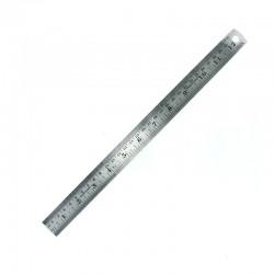 Ocelové měřítko ploché 300 mm (metrická a imperiální stupnice)