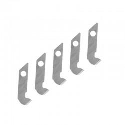 Čepel pro rytí plastových desek (zahnutá, pro nůž PKN4150), 5 ks