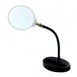 Stojanová lupa (průměr čočky 110 mm) s ohebným krkem