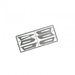 6 jemných pilových listů různého tvaru určených pro pilkový skalpel (sada č.2)