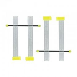 Svěrka Berna malá - 75 mm dlouhé čelisti, maximální rozevření cca 40 mm, 2ks