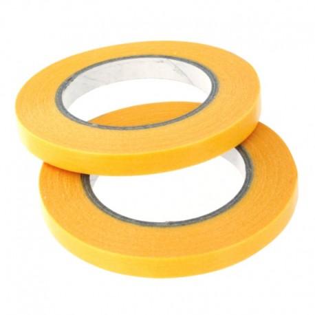 Maskovací páska 6 mm (standardní - žlutá), délka 18 m, 2 ks