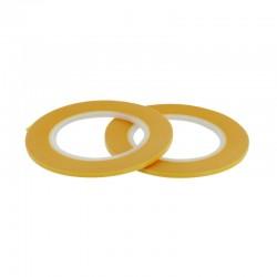 Maskovací páska 2 mm (standardní - žlutá), délka 18 m, 2 ks