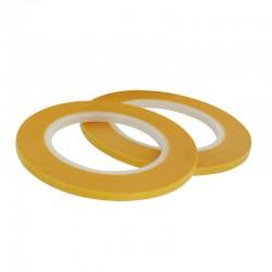 Maskovací páska 3 mm (standardní - žlutá), délka 18 m, 2 ks