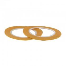 Maskovací páska 1 mm (standardní - žlutá), délka 18 m, 2 ks