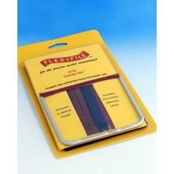 Rámové brousítko Flex-i-file - větší sada s jedním brousítkem a 18 brusnými páskami