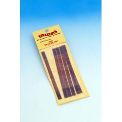 Brusné pásky pro rámové brousítko Flex-i-file střední (hrubost 280), 6 ks