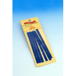 Brusné pásky pro rámové brousítko Flex-i-file jemné (hrubost 320), 6 ks