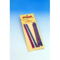 Brusné pásky pro rámové brousítko Flex-i-file, 6 kusů různé hrubosti