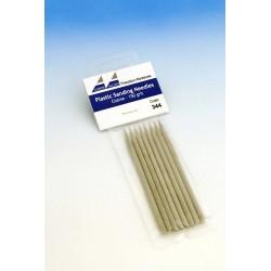 Brusné tyčinky hrubé (šedé) - hrubost 150, 8 ks
