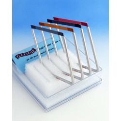 Velká sada brousítek Flex-i-file se stojánkem - obsahuje 4 brousítka, 24 brusných pásů a pracovní stojánek pro 5 brousítek
