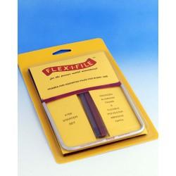 Rámové brousítko Flex-i-file - základní sada s jedním brousítkem a 5 brusnými páskami