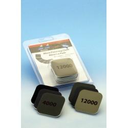 Brusné polštářky oboustranné, 6 ks (hrubost 3200, 3600, 4000, 6000, 8000 a 12000)