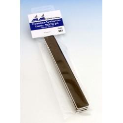 Brusné pilníky hrubé (šedé) - hrubost 100/180, 3 ks
