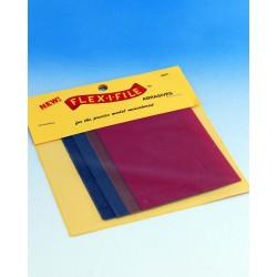 Brusné papíry Flex-i-file, hrubost 150, 280, 320 a 600 (po dvou listech formátu 75 x 100 mm od každé hrubosti)