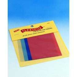 Leštící brusné papíry Flex-i-file, hrubost 1000, 1500, 6000 a 10000 (po dvou listech formátu 75 x 100 mm od každé hrubosti)