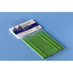 Štětičky Microbrush střední (zelené), 25 ks