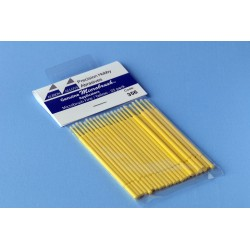 Štětičky Microbrush malé (žluté), 25 ks
