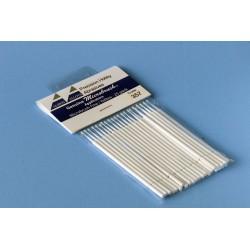 Štětičky Microbrush velmi malé (bílé), 25 ks