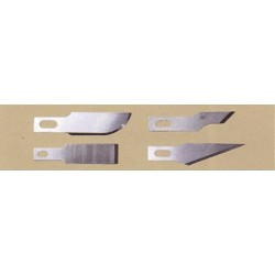 Výběr čepelí pro střední skalpely (dvě č.24 a po jedné od č.18, 19 a 22)