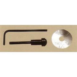 Pilový kotouč č.100 - o25 mm, 76 zubů (včetně stopky a montážního klíče)