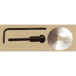 Pilový kotouč č.125 - o32 mm, 99 zubů (včetně stopky a montážního klíče)