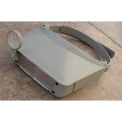 Zvětšovací pracovní brýle Magna-visor fialové (zvětšení 1.8x až 4.8x)
